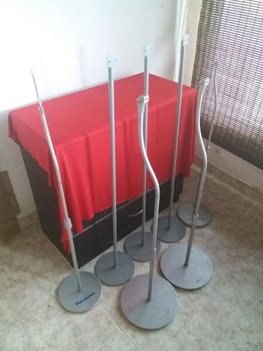 soporte base parlante acero gris 5 ecualizable aprox 1 metro