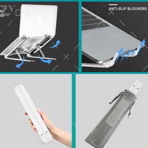 soporte base stand plegable notebook portátil escritorio