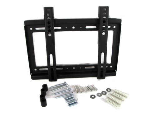 soporte base tv 25kg montura para pared fija para televisor