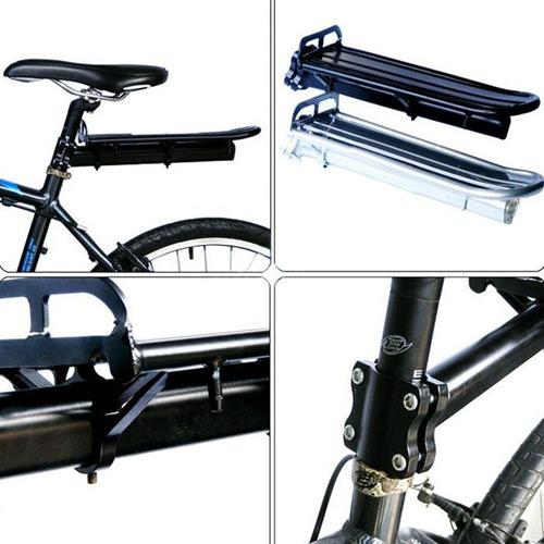soporte bici porta equipaje flotante bicicleta aluminio