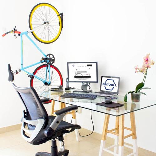 soporte bicicletas pared