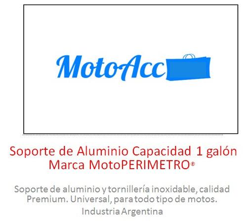 soporte bidón de combustible 1 galón marca motoperimetro®
