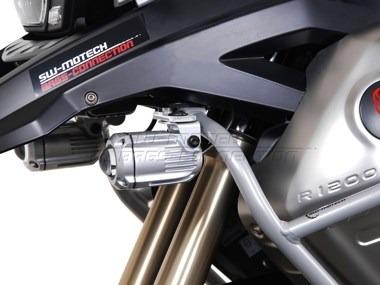 soporte bmw r1200gs faros auxiliares sw motech para  moto
