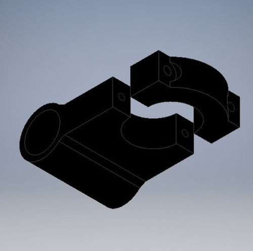 soporte boton moto