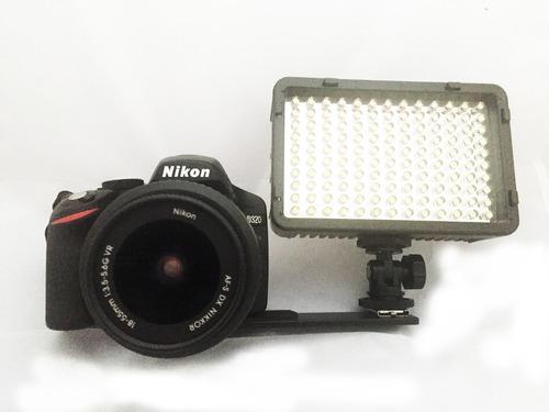 soporte bracket base para flash y lamparas videocámaras