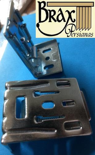 soporte bracket para persianas con fascia de sheer elegance