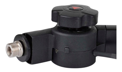 soporte brazo microfono condenser alctron ma614 black