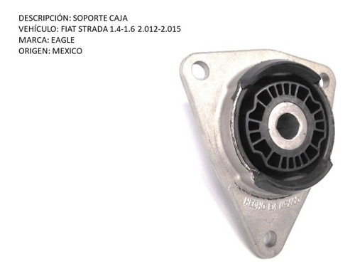 soporte caja fiat strada 1.4-1.6 2.012-2.015