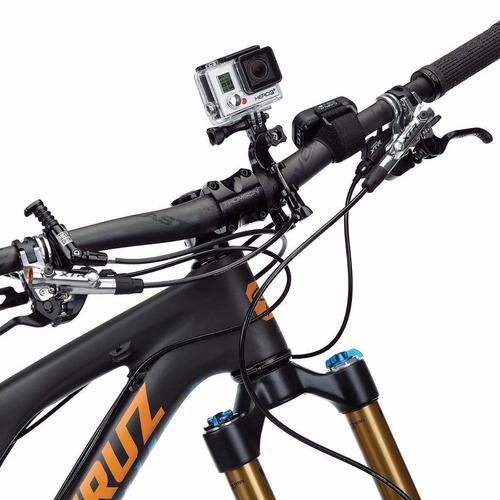 soporte camara deportiva gopro bicicleta moto casco
