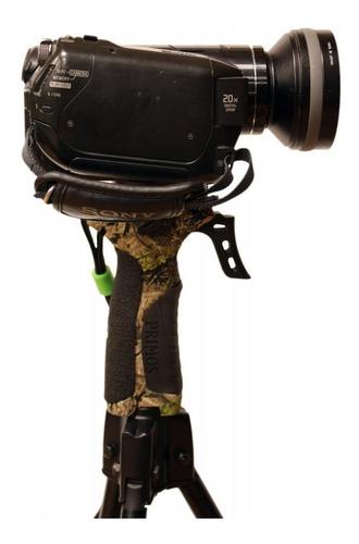 soporte cámara óptica táctico tripié trípode cacería primos