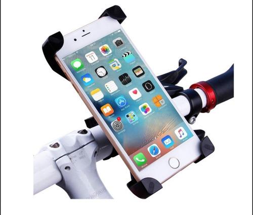 soporte celular bicicleta moto iphone 6 samsung j7 huawei