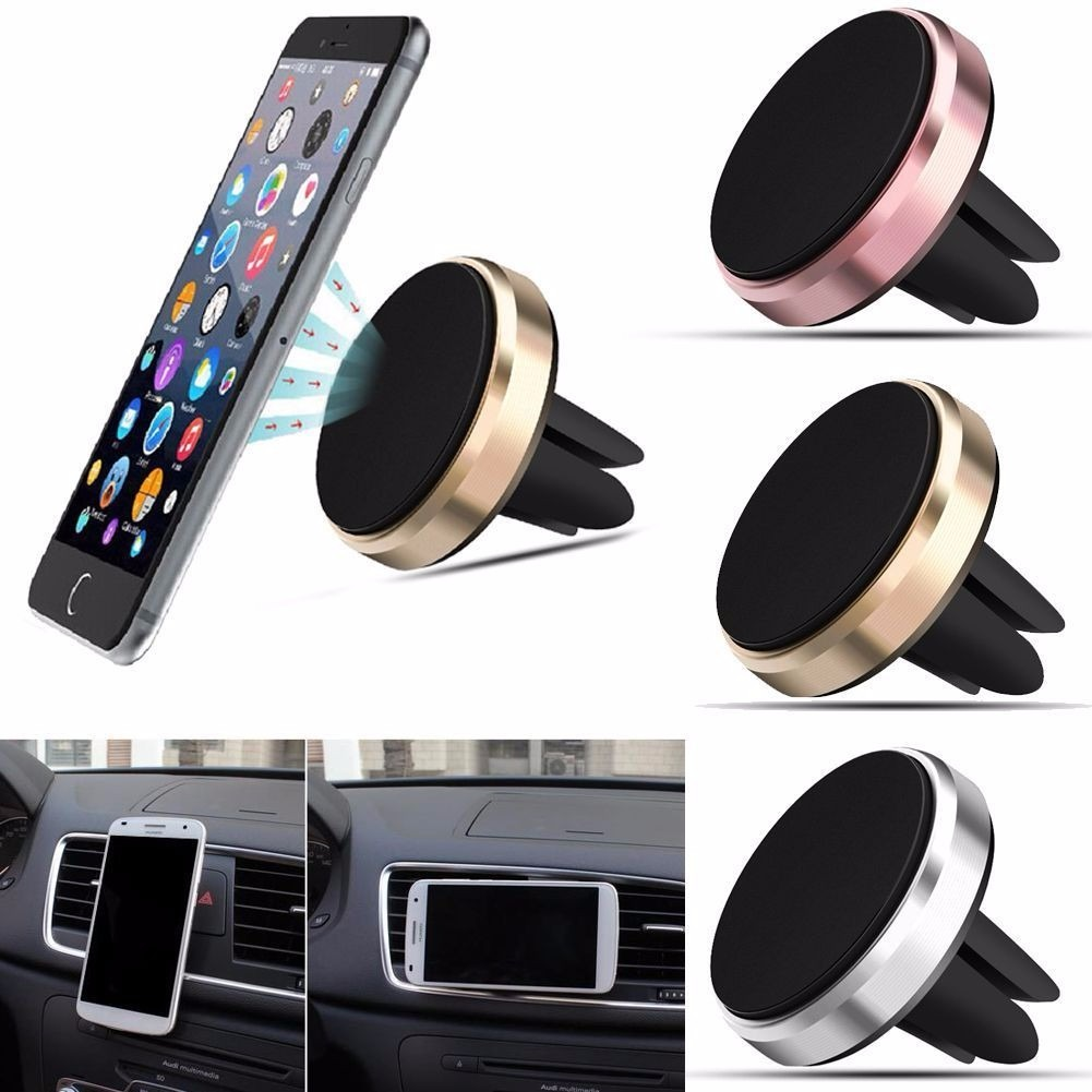 Universal air vent magnetic car cellphone mount holder 13