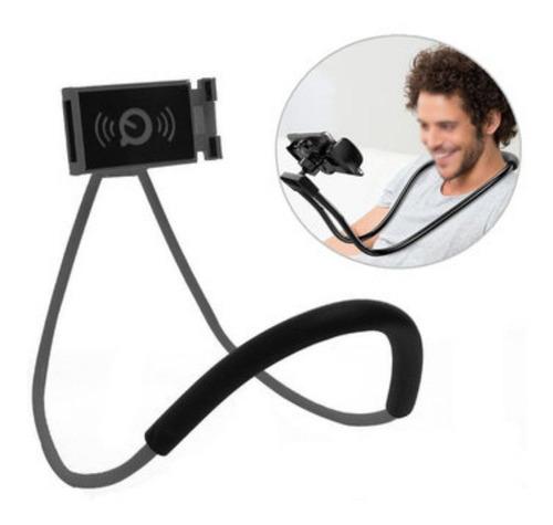 soporte celular cuello sujetador flexible cama variedad ofer
