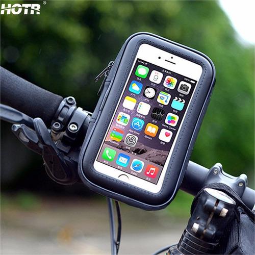 soporte celular moto bicicleta resistente agua iphone 6 6s 7