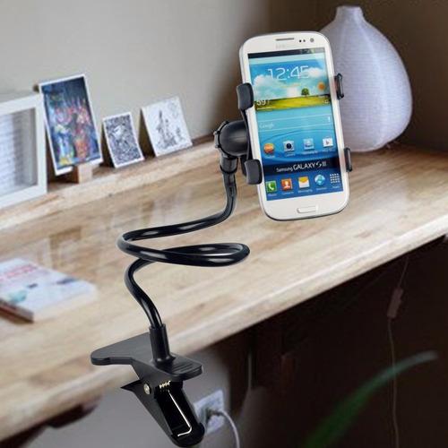 soporte celular multiuso para oficina o casa iphone samsung