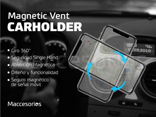 soporte celular p/ auto magnetico ventilacion aire universal