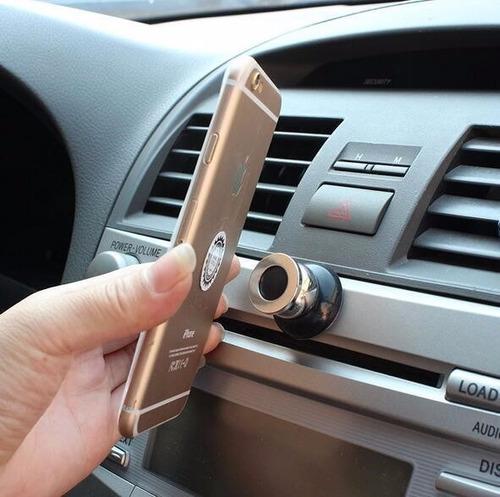 soporte celular teléfono magnético carro iphone samsung 360º