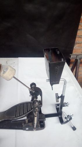 soporte cencerro para pedal de bombo