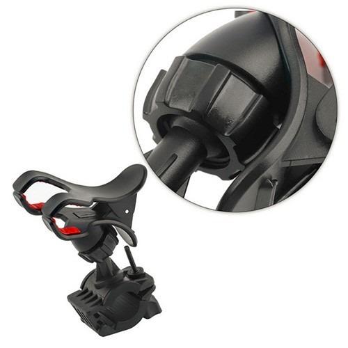 soporte clip celular a manubrio motocicleta bicicleta