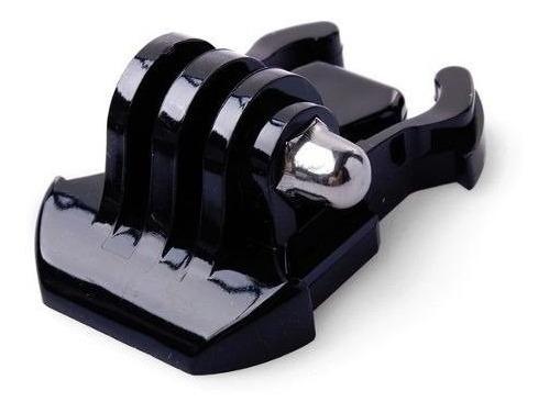 soporte clip gopro hebilla horizontal accesorio 2 unidades