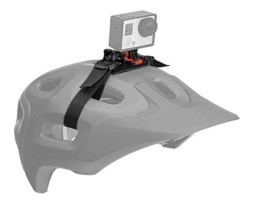 soporte correa casco sjcam gopro moto helmet strap vincha