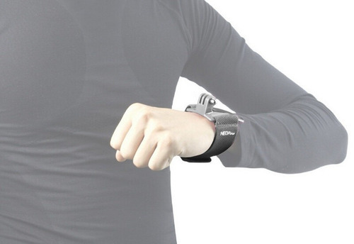 soporte correa muñeca brazo para camara gopro hero 1/2/3/4
