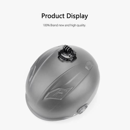 soporte curvo 360 grados casco gopro & cam deportivas