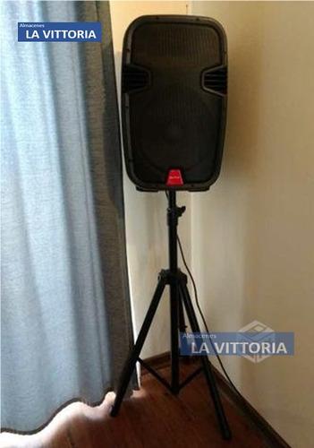 soporte de aluminio para parlante amplificador