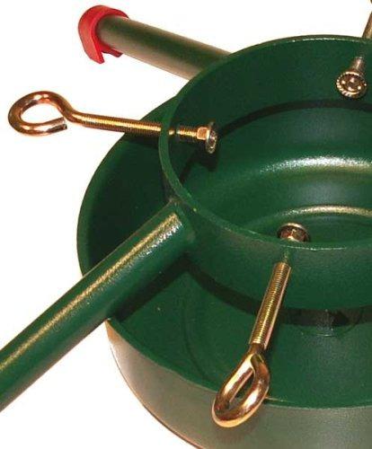 soporte de árbol de navidad de acero soldado jack-post, para