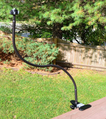 soporte de árbol o rail bendy mount para cámara, videocámara