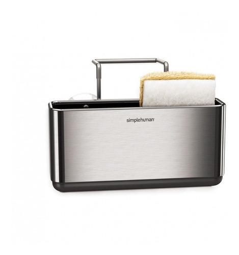 soporte de esponja para lavabo de cocina simplehuman