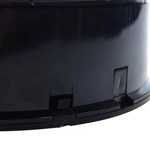 soporte de exhibicion giratorio motorizado del terciopelo de
