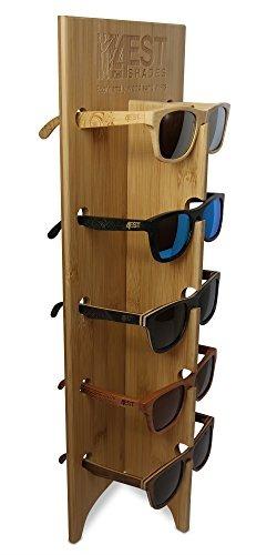 6e886f816f Soporte De Gafas De Sol De Madera - $ 60.125 en Mercado Libre