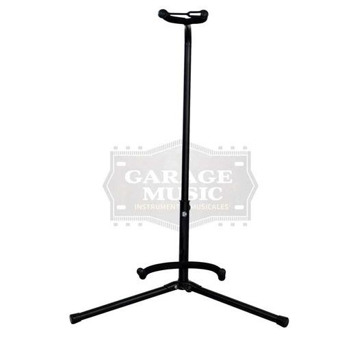 soporte de guitarra o bajo regulable con cuello metalico