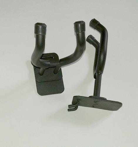 soporte de  guitarras para tablero acanalado o perforado.