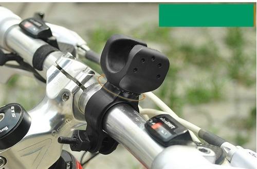 soporte de linterna para bicicleta
