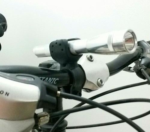 soporte de linterna para bicicleta ref: h01