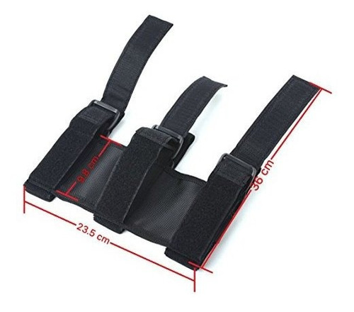 soporte de maletero de coche de extintor de barra de rodillo
