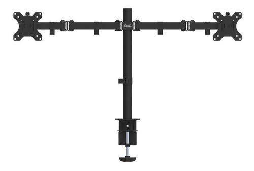 soporte de mesa doble monitor tv 13 a 32 ' gira rota inclina