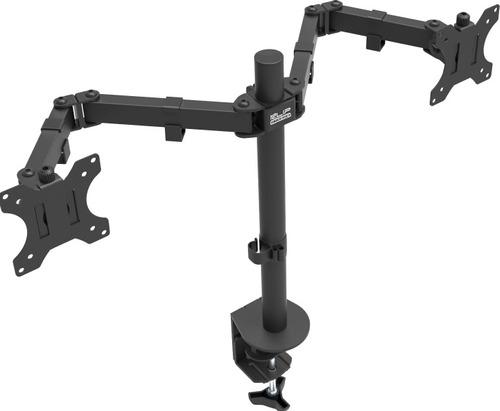 soporte de mesa escritorio doble monitor o tv de 13 a 32