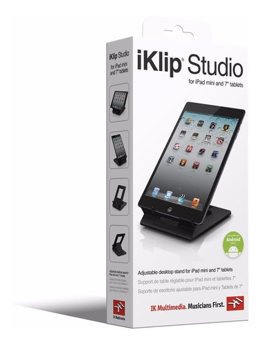 soporte de mesa ipad y tablets ik multimedia iklip studio mini - oddity