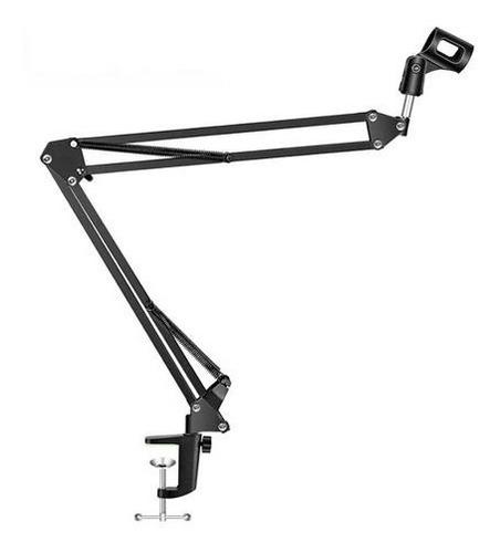 soporte de mesa microfono brazo extensible hugel locucion rf