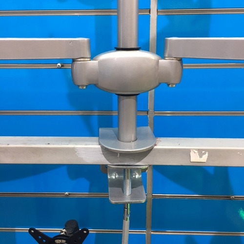 soporte de monitor para escritorio o mesa dual lcd/ledtv.