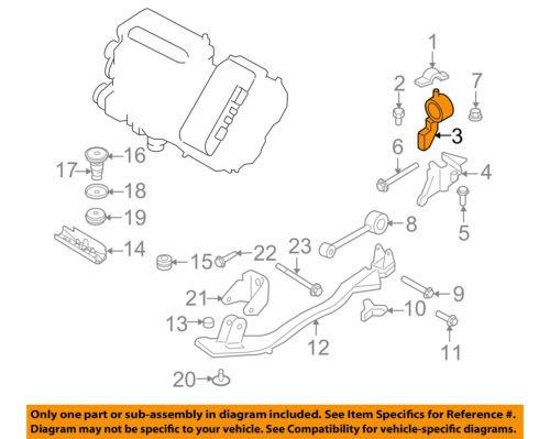 FORD OEM Transmission Mounting-Bracket 6M6Z6M007A