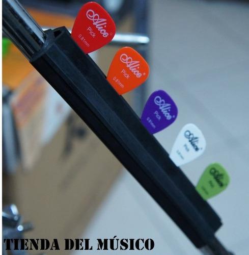 soporte de pajuelas para microfono alice a010d con pajuelas