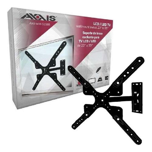 soporte de pared axxis axx-wm-s2355 para tv de 23 a 55 pulg