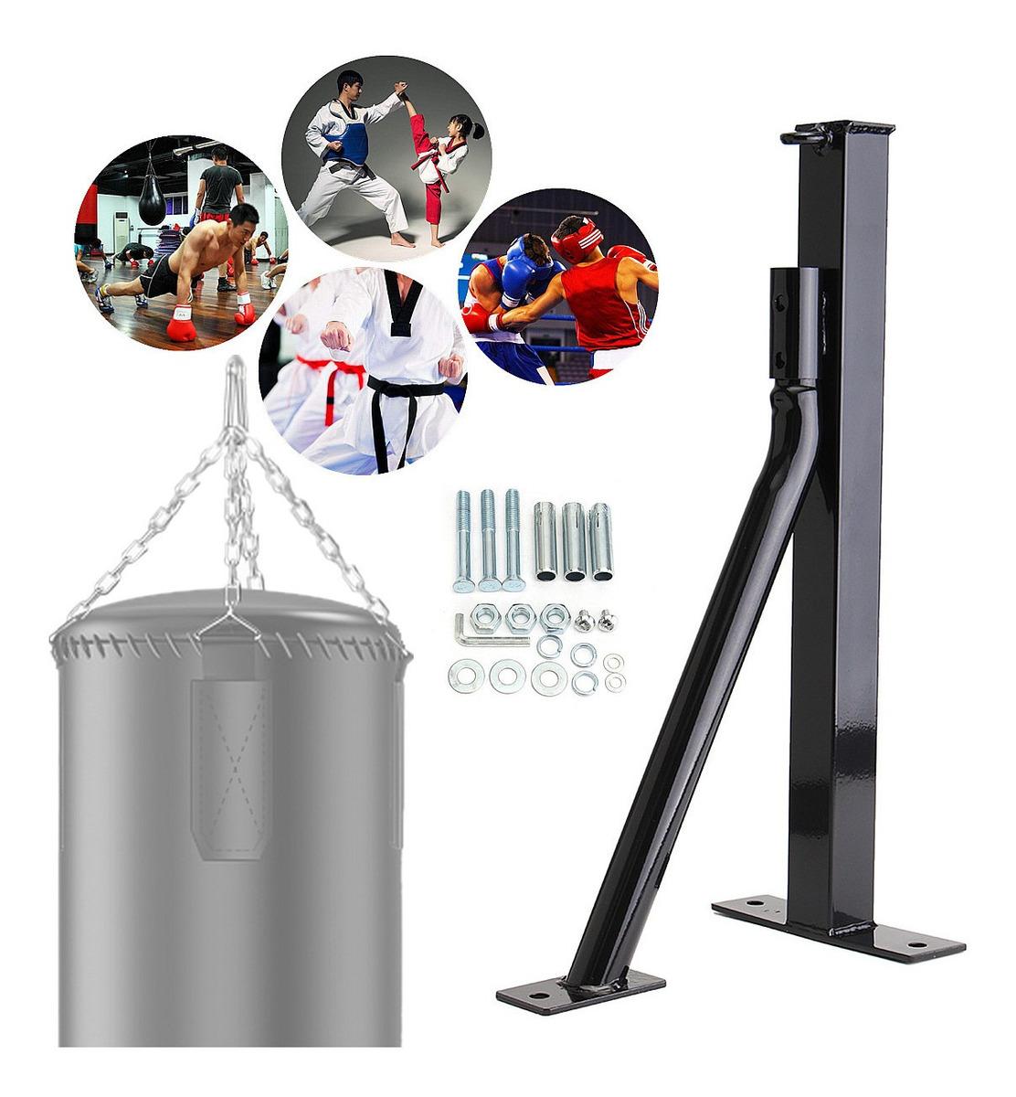 Soporte de Saco de Boxeo Soporte de Pared para Saco de Boxeo de M/áxima 100 kg Construcci/ón de Acero Boxing Punch Bag No Est/á Incluido