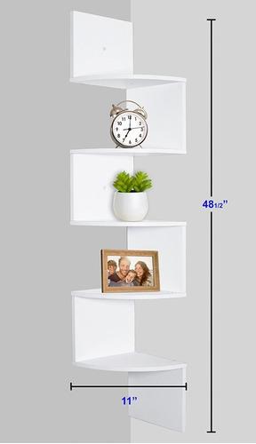soporte de pared esquinero repisa blanca *envio gratis