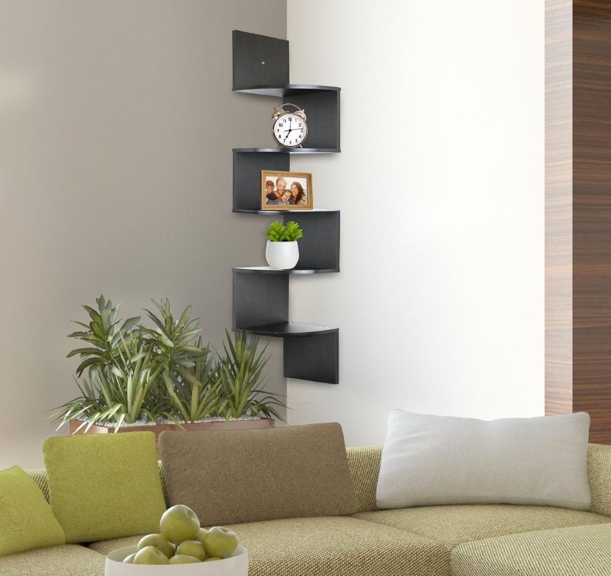soporte de pared estanterías de esquina greenco 5 niveles. Cargando zoom. b09bbd4a350a