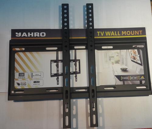 soporte de pared fijo de tv de 32´ a 55´ - hasta 40kg aprox.